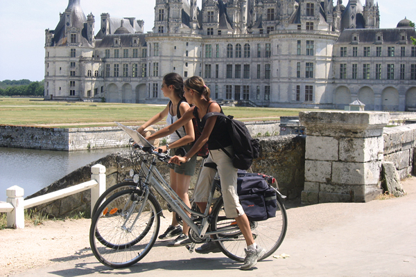 Self-Guided Cycling Holidays around the Chateaux of the Loire, France