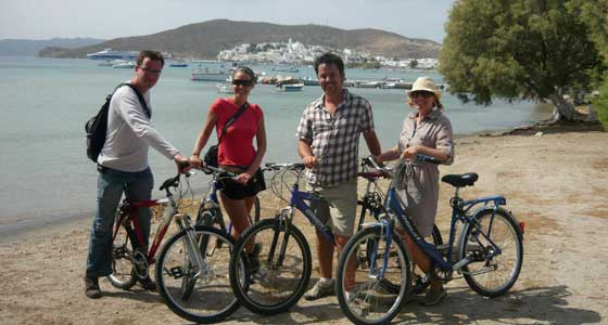 Guided Family Cycling Holiday in Greece