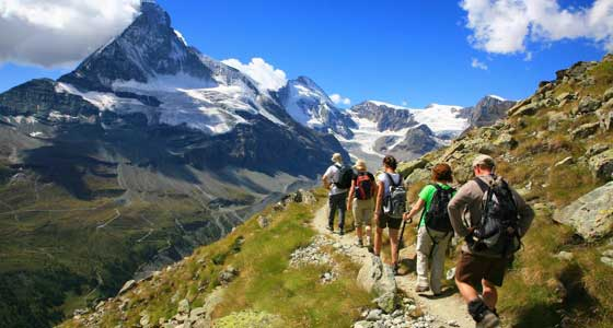 The Bernese Oberland and Reichenbach Falls | Guided Walking Holidays in Switzerland