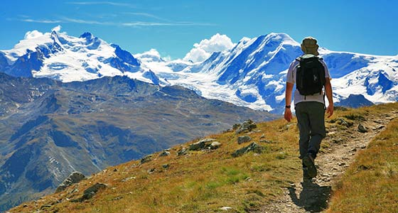 Tour de Monte Rosa | Guided Walking Holidays in Switzerland & Italy