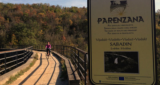 Parenzana Cycle Trail | Self-Guided Cycling Holidays in Slovenia & Croatia