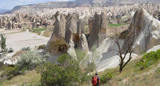 Self-Guided Walking Holidays in Cappadocia