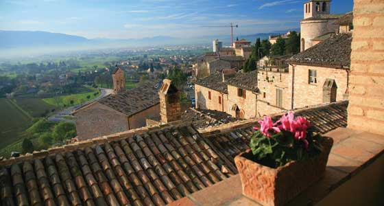 Self-Guided Walking Holidays in Italy's Umbria region.