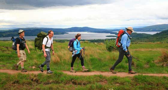 Self-Guided Walking Holidays along Scotland's Rob Roy Way