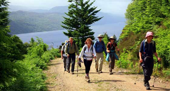 Self-Guided Walking Holidays along Scotland's Great Glen Way