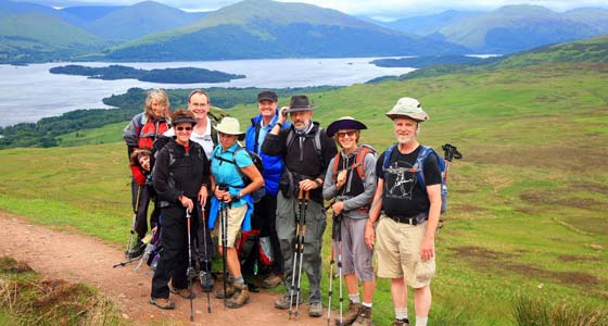 Self-Guided Walking Holidays along Scotland's West Highland Way - 10 Days