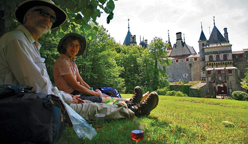 Burgundy Vineyard Trails walking holiday with Sherpa Expeditions