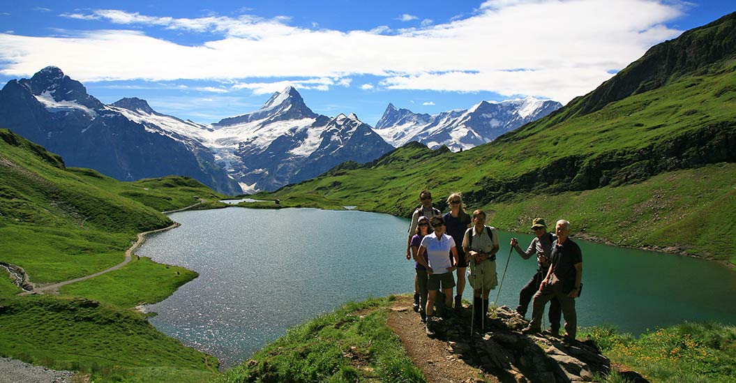 Guided walking holidays on Alpine Pass Route, Sherpa Expeditions