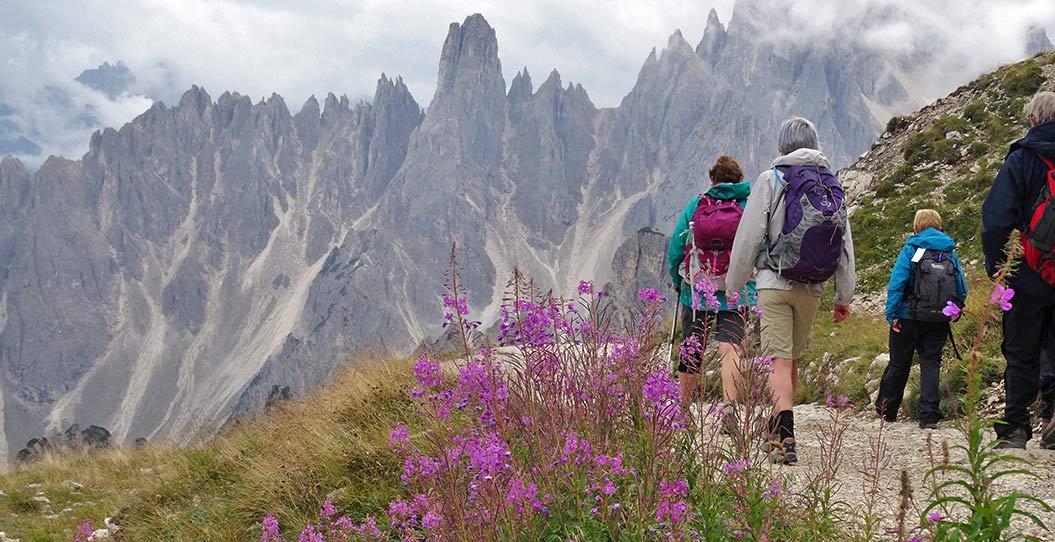 Guided walking holidays in Italy's Dolomites, Sherpa Expeditions