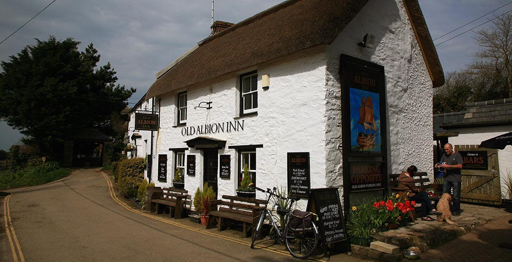 Best pubs in Cornwall by Sherpa Expeditions walking cycling holidays