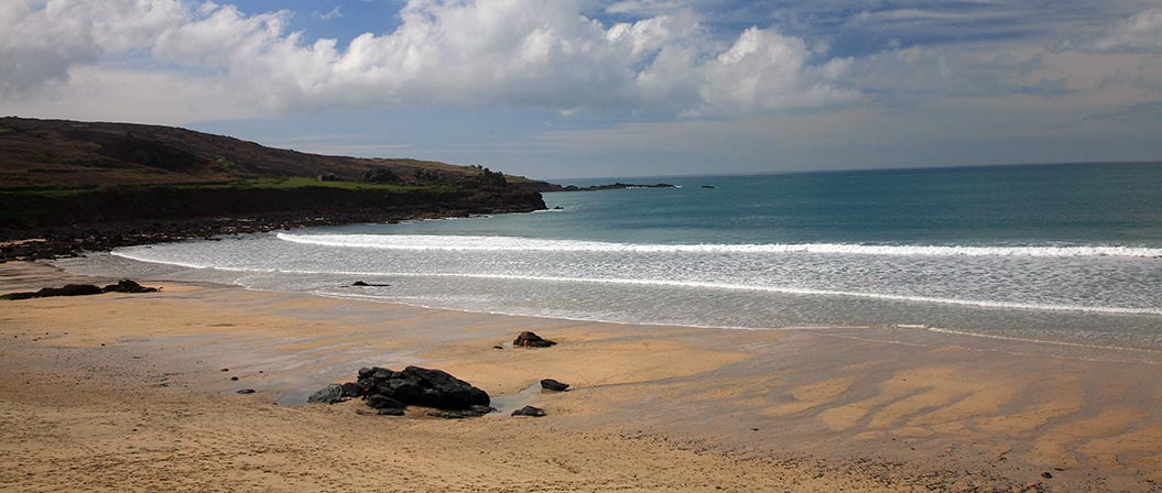 Active holidays in Cornwall - best Cornish beach - Sherpa Expeditions walking holidays