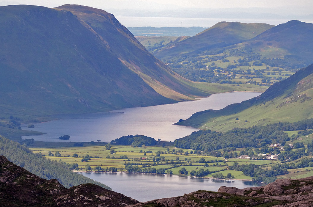 stunning views on Wainwright's Coast to Coast walk - Sherpa Expeditions