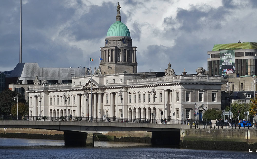 Sherpa Expeditions Dublin Walking Tour: The Custom House