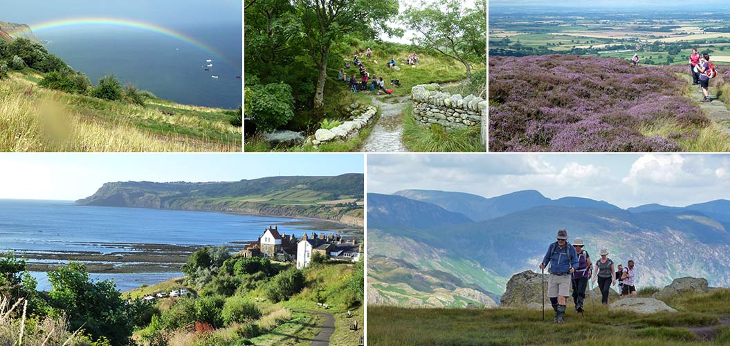 Wainwright's Coast to Coast in England - Sherpa walking holidays