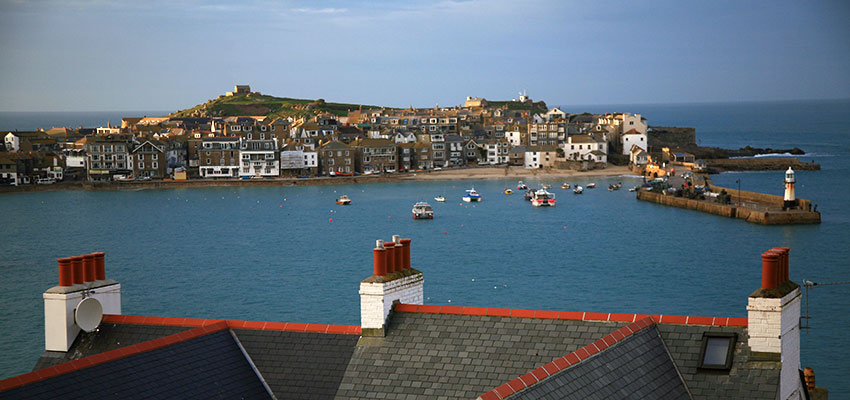 charming town of St Ives in Cornwall, England - Sherpa Walking Holidays