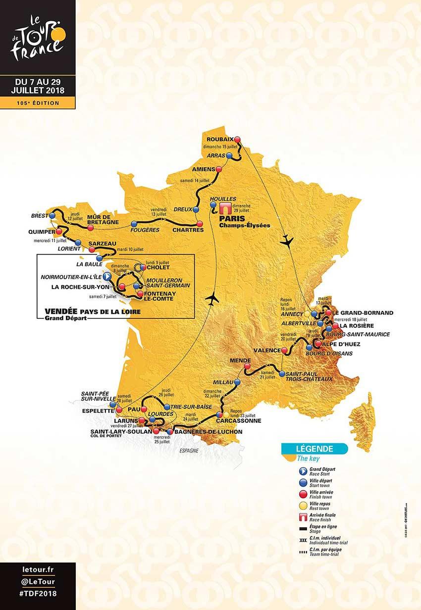 Tour de france 2018 dates when to be where tour de france dates 2018 cletourdefrance gumiabroncs Choice Image