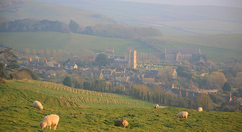 Rewarding walks in Dorset with Sherpa walking holidays UK