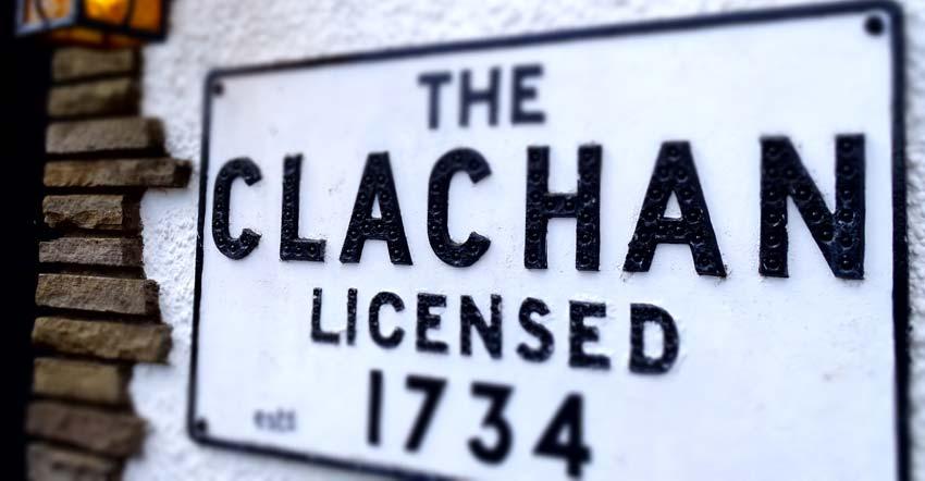Clachan Inn on the Rob Roy Way