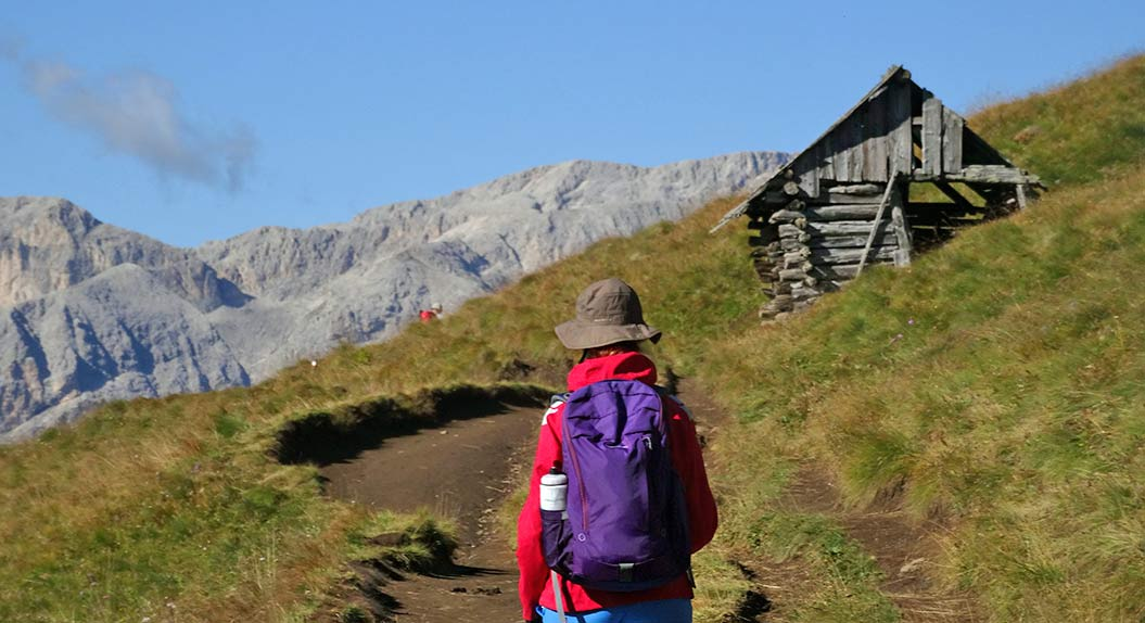 bring a water bottle on your hiking trip in the mountains with Sherpa Expeditions
