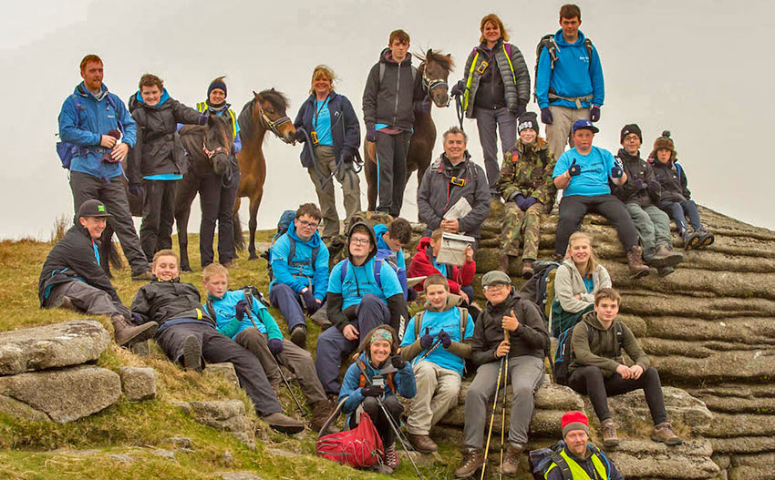 Outdoor gear donated to young people ©GiftYourGear