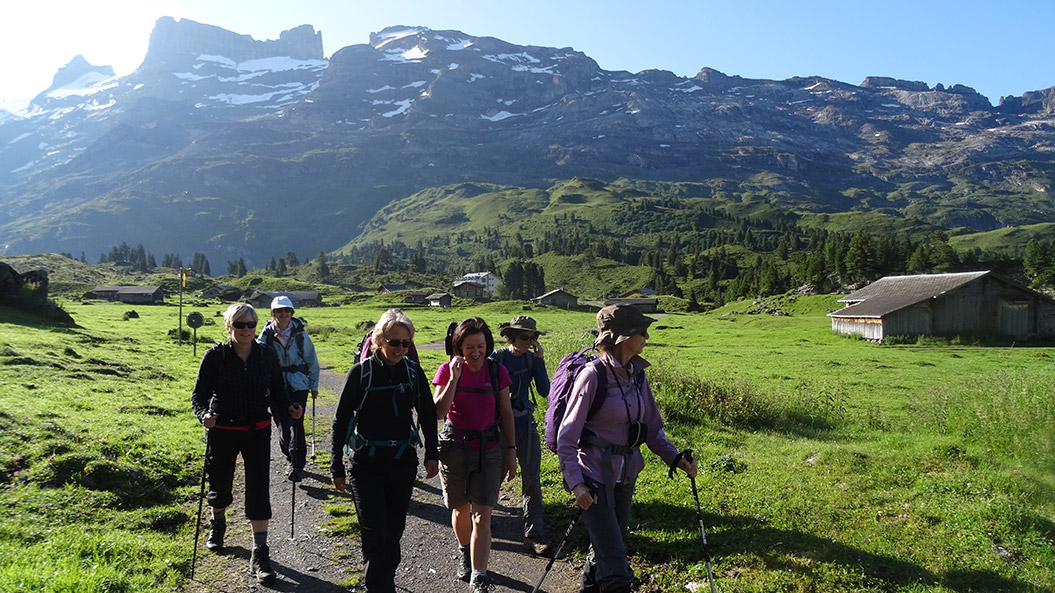 European holiday news switzerland guided walking holidays europe alpine pass route switzerland with sherpa expeditions sciox Image collections