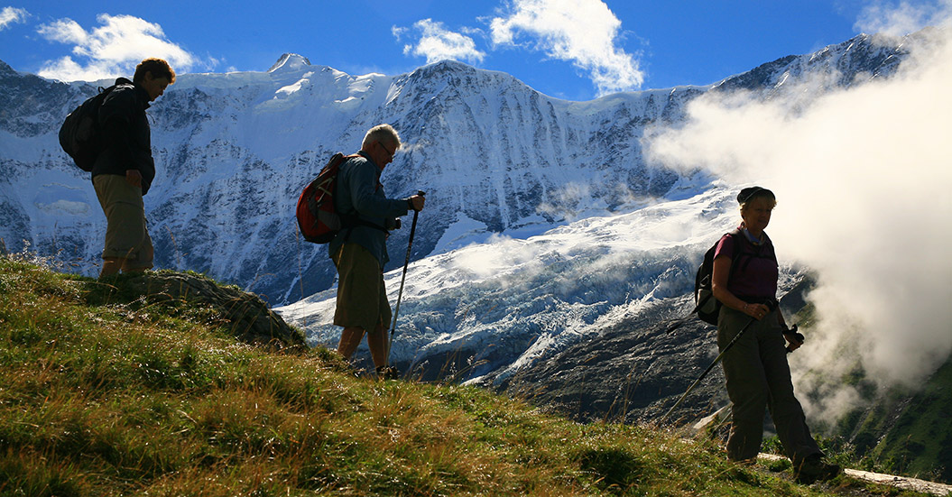 Guided walking holidays europe - Bernese Oberland, Switzerland, with Sherpa Expeditions