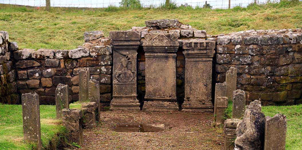 Temple of Minerva on Hadrian's Wall Path - Sherpa Expeditions