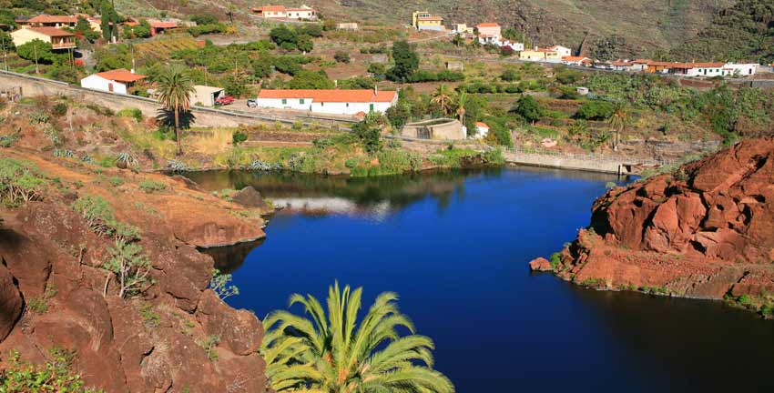 European coastal walking holidays - La Gomera