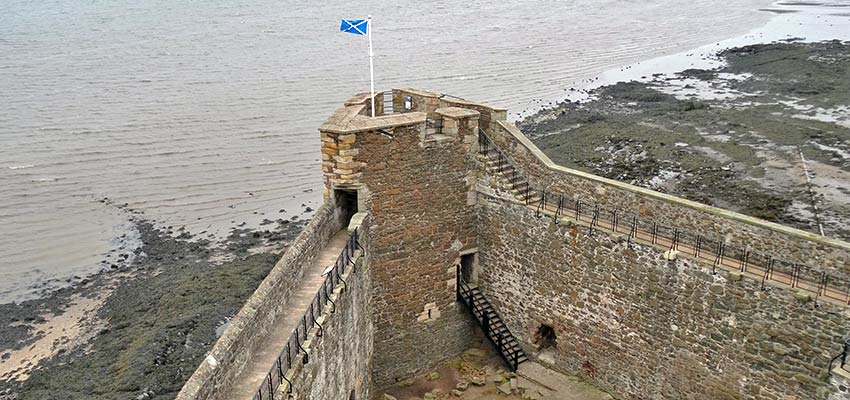 John Muir Way - Blackness Castle, Scotland walking holidays