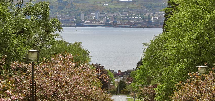 hometown of John Muir, Helensburgh - Sherpa Expeditions