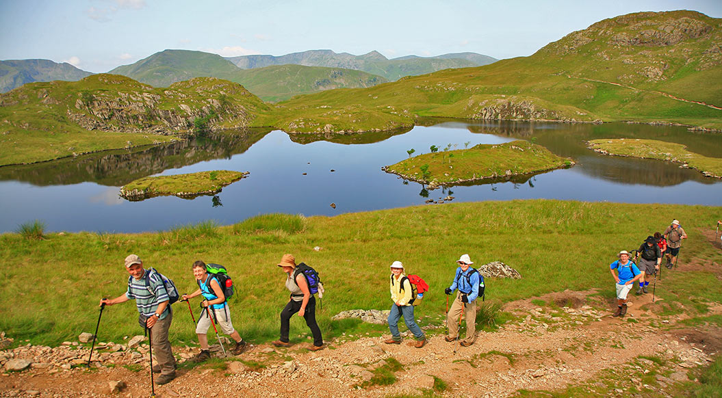 Walkers in the Lake District UK - Sherpa walking holidays