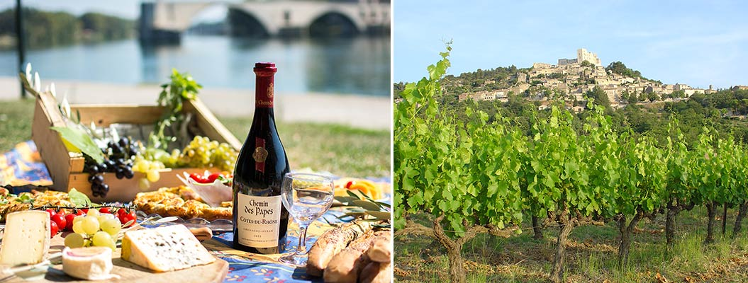 Provence wines on a walking holiday in France - Sherpa Expeditions