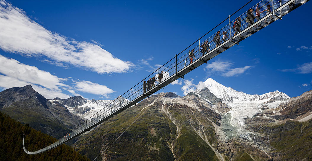 new Zermatt suspension bridge - Sherpa Expeditions