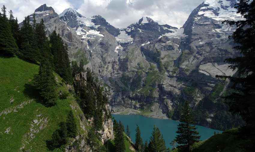 Oeschinensee-in-Switzerland-on-a-Sherpa-Expeditions-Holidays-to-the-Alpine-Pass