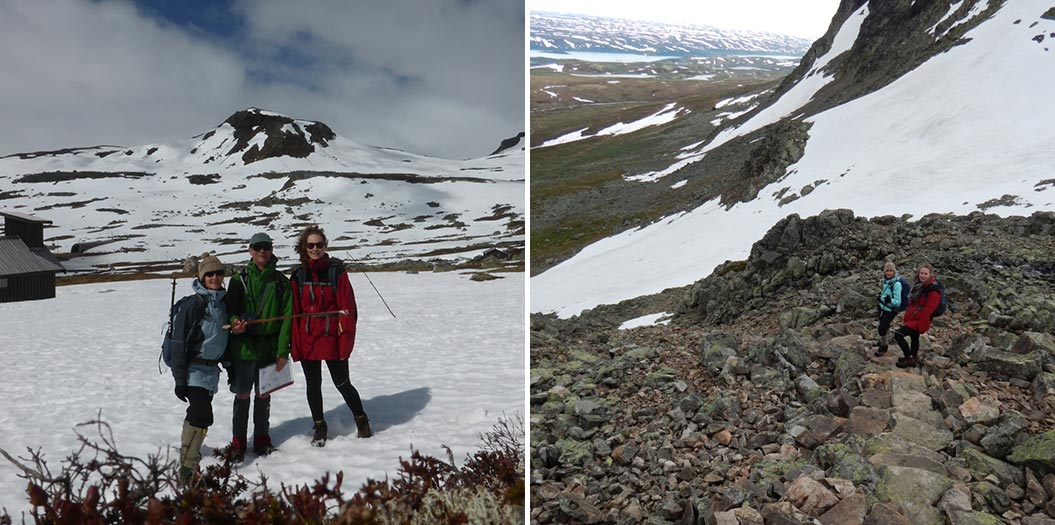Varying weather on summer walking holidays in Norway - Sherpa Expeditions