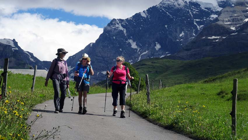 Feedback from Traveller Eileen-walking in the Swiss Alps with Sherpa Expeditions