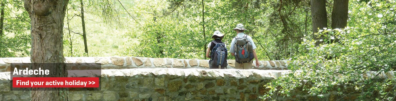 Walking Holidays around Ardeche