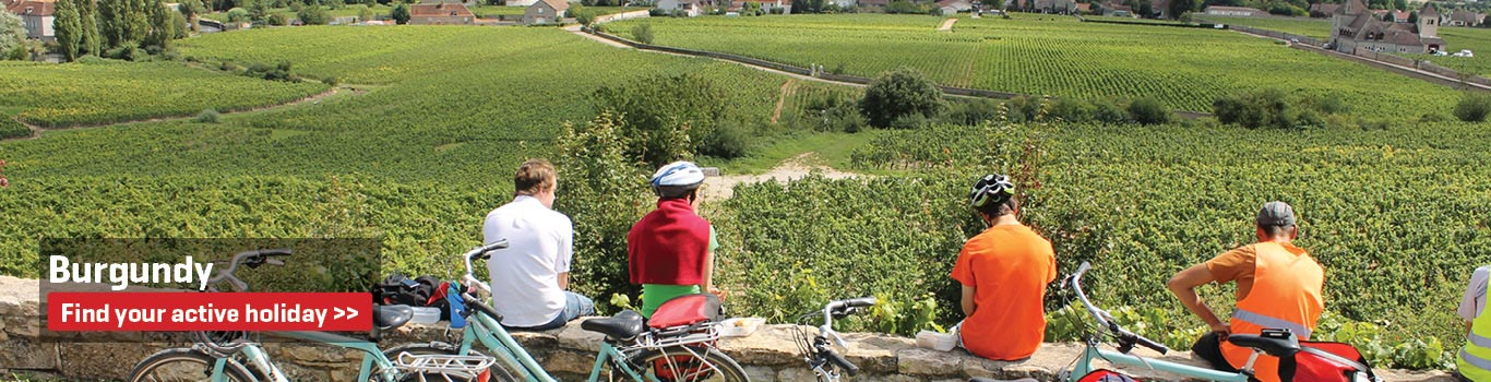 Walking & Cycling Holidays in Burgundy