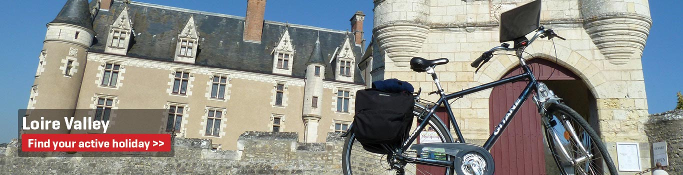 Walking & Cycling Holidays in the Loire Valley