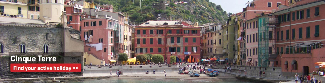 Walking Holidays in the Cinque Terre