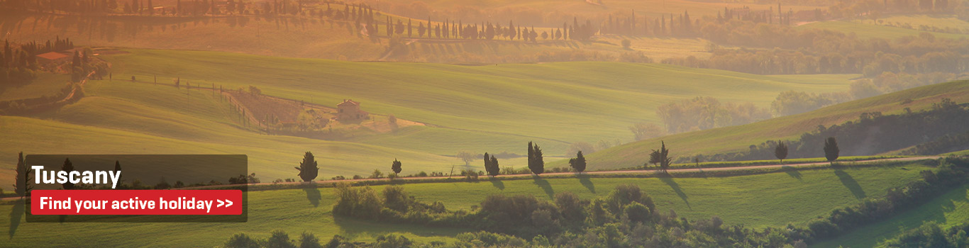 Walking & Cycling Holidays in Tuscany