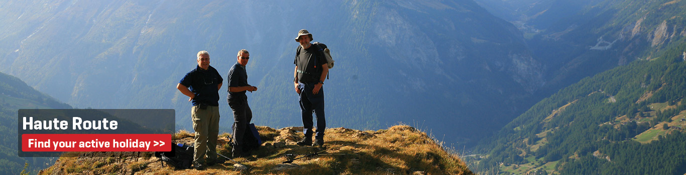 Walking Holidays on the Haute Route 4