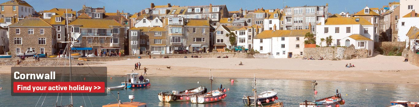 Cornwall - Walking and Cycling Holidays in the United Kingdom