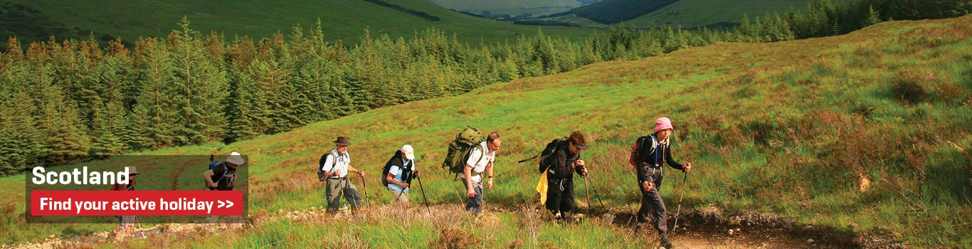 Scotland - Walking and Cycling Holidays in the United Kingdom