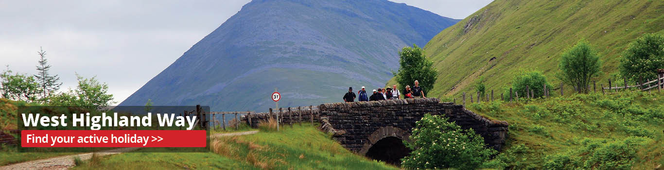 Walking the West Highland Way with Sherpa Expeditionss