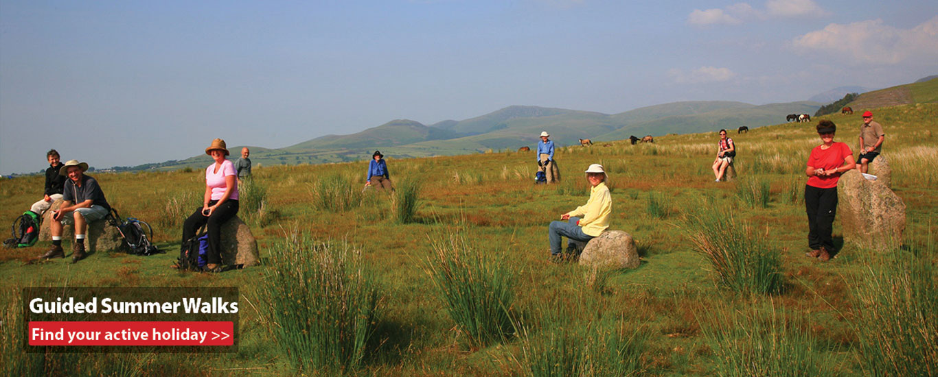 Guided Summer Walking Holidays