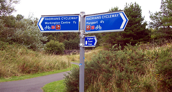 Self-Guided Cycling Holidays along Hadrian's Wall the United Kingdom