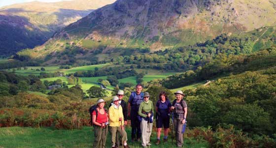 Self Guided Walking Holidays on the Cumbria Way - Lake District