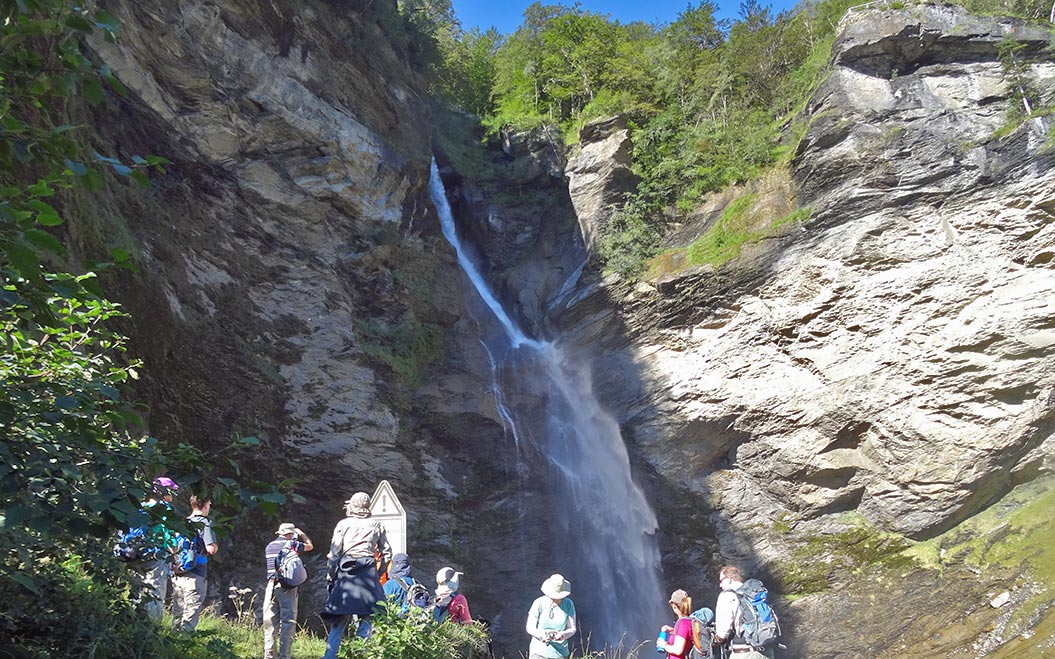 centre-based-walking-holidays-europe-meiringen-reichenbach-falls - Sherpa Expeditions