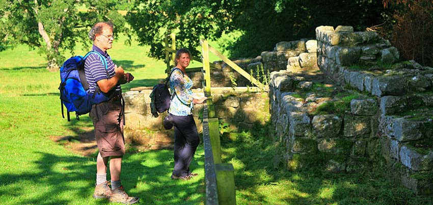Learn about Hadrian's Wall - Sherpa Expeditions walking holidays